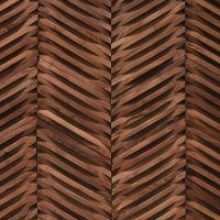 DuChateau - Wall Coverings - Curva Chevron by AB Hardwood