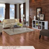 Somerset Color Strip Collection - Natural Red Oak by AB Hardwood